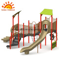Slide outdoor play structure equipment