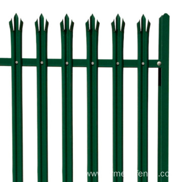 Popular online palisade fence euro panel garden fence