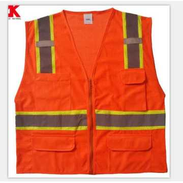 Roadway high visibility waistcoat