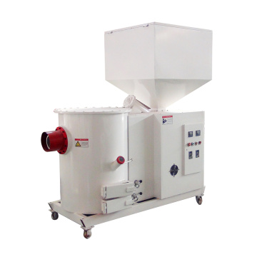 Biomass wood pellet burner