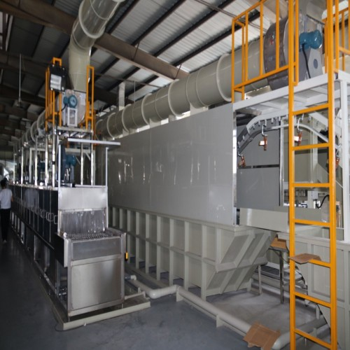 Cookware hard anodizing coating production line