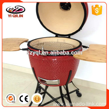 Wood fired stainless steel pizza oven barbecue food