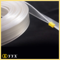 Exquistite and clear nylon teeth pvc tape zipper