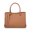 Classic Leather Women Office Business Tote Laptop Handbags