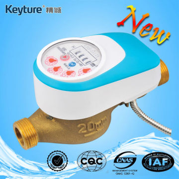 Wired Remote Valve Control Water Meter Light Blue