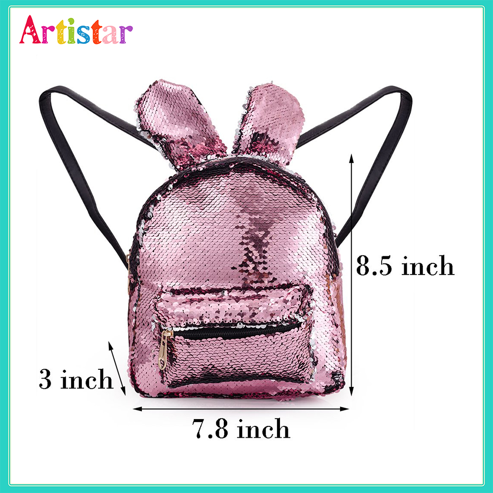 Rabbit Sequin Backpack 12 2 2