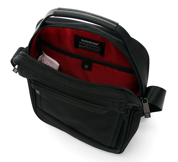 Large Capacity Black Shoulder Bag