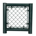 PVC coated Black panels used chain link fences