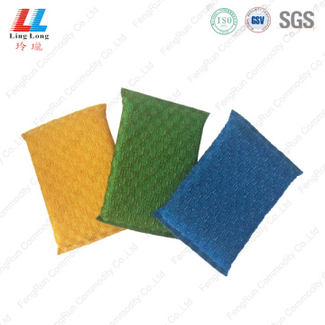 Massaging fizzy kitchenware sponge cloth