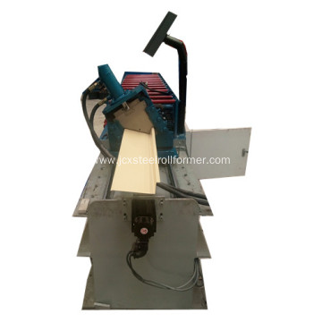 Roof flashing forming machine