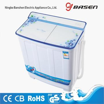 Glass Cover 8.5KG Twin Tub Top Loading Washing Machine