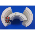 combined assembled alumina ceramic chuck semicircle parts