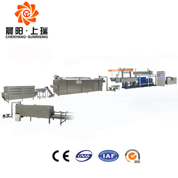Instant rice porridge processing line