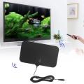 Free shipping 35miles Small Indoor Communication Antenna Receiver HDTV Antenna For DVB-T DVB-T2 UHF ATSC