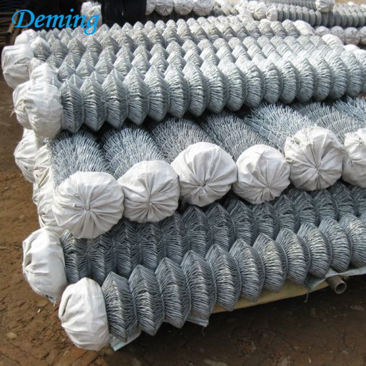 Wholesale Galvanized PVC Coated Used Chain Link Fence