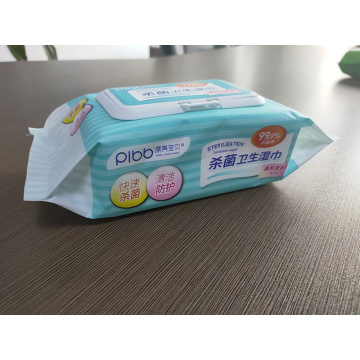 Wholesale Price OEM Antibacterial Skin Wipes