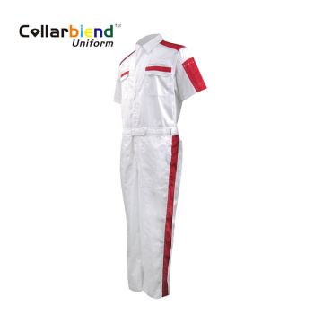 OEM White Mechanic Overall Work Clothes