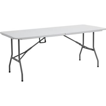 6ft used outdoor plastic folding tables for event