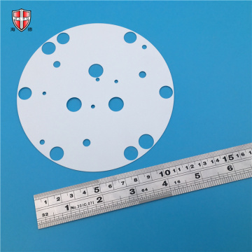 96% alumina ceramic sheet disc laser cutting