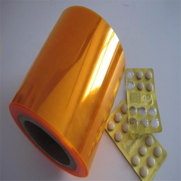 Colored or clear pharma use pvc rigid film