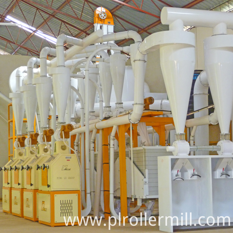 Tanzania 30TPD Maize Milling Plant