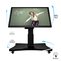 55 Touch Panel Display Cheap With Automatic Stand