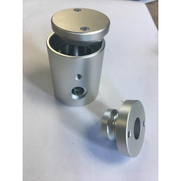CNC Machining Spotlight Housing with Anodized