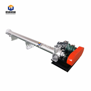 auger pellet inclined screw conveyor for silo cement