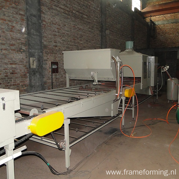Colorful Stone Coated Roof Production Line