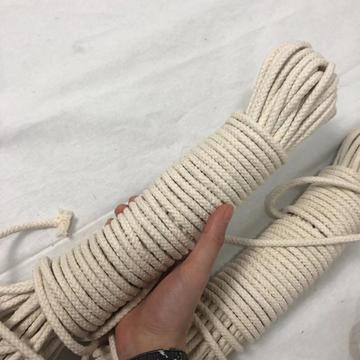 Wide use CCS/ABS certificate approved macrame cotton rope