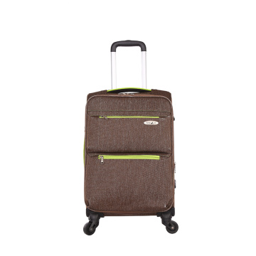 Customzied 3pcs spinner nylon lightweight travel luggage
