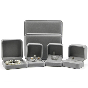Luxury Wholesale Velvet Jewelry Box for Packaging