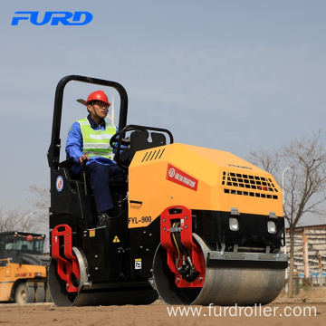 Wholesale Full Hydraulic 2 ton Double Drum Vibratory Road Roller