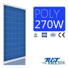 Ex-Work Price 270W Poly Solar Panels with Ce, TUV Certificates