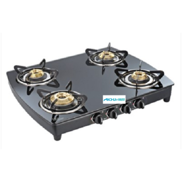 Crystal Plus Toughened Glass Cooktop 4 Burner