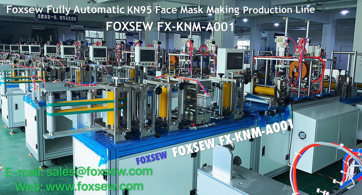 Fully Automatic KN95 Mask Making Machine -1