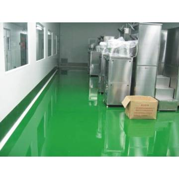 Used for dustproof epoxy self-leveling in warehouse