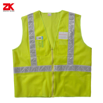 100% polyester High visible safety cloth