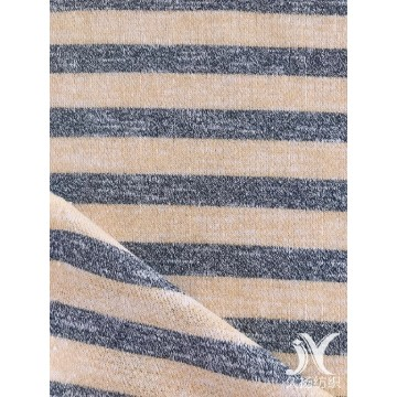 Stripe French Terry Knit Fabric