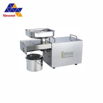 110V/220V Automatic Black Sesame Oil Press Cold Press Oil Machine Oil Cold Press Machine Sunflower Seeds Oil Extractor free ship