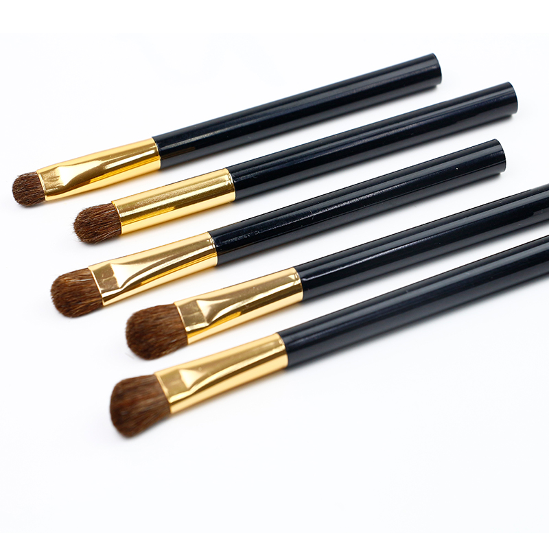 Portable Eyeshadow Plastic Handle Eye Brush