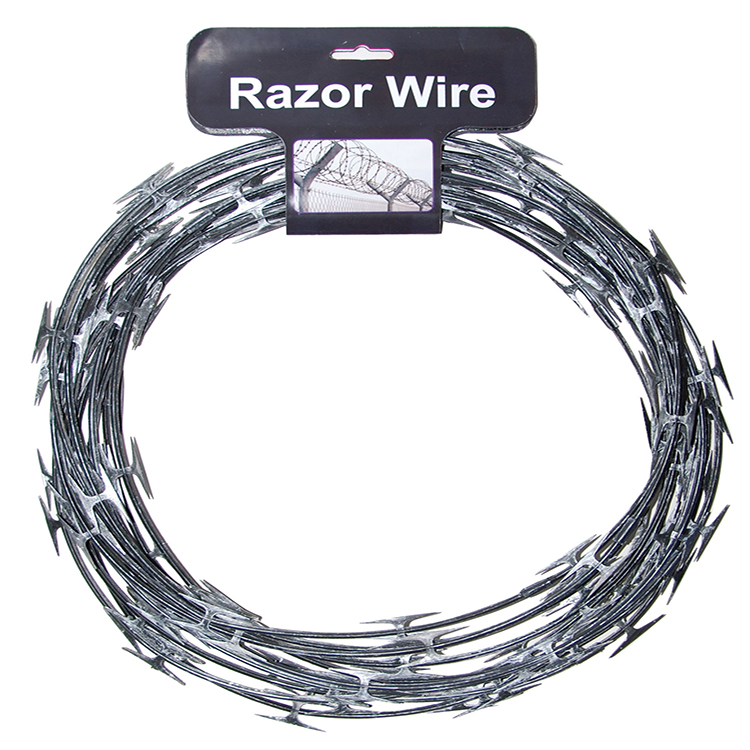 Razor wire barbed wire
