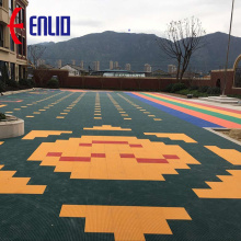 Outdoor children playgrouds flooring