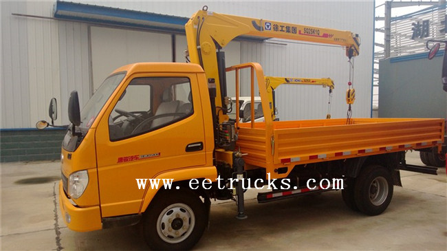 JAC Straight Arm Crane Trucks
