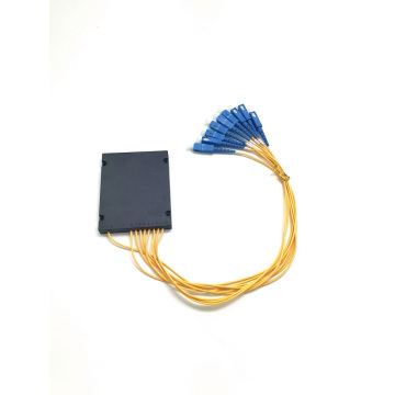 PLC 1*8 ABS BOX splitter sc upc connector