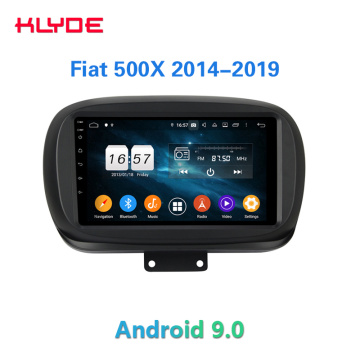 9'' Android car audio for Fiat 500X 2014-2020
