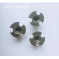 M8 Steel Zinc Plated Pallet Nuts