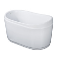 Deep Small Soaking Freestanding Bath for Small Bathroom