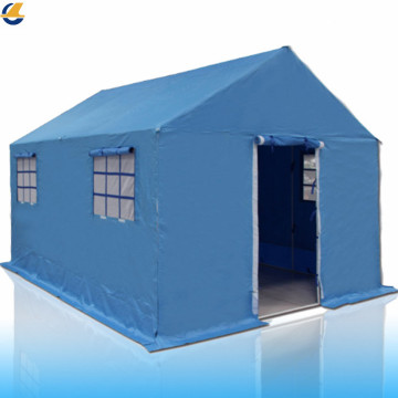 Disaster relief materials emergency tents