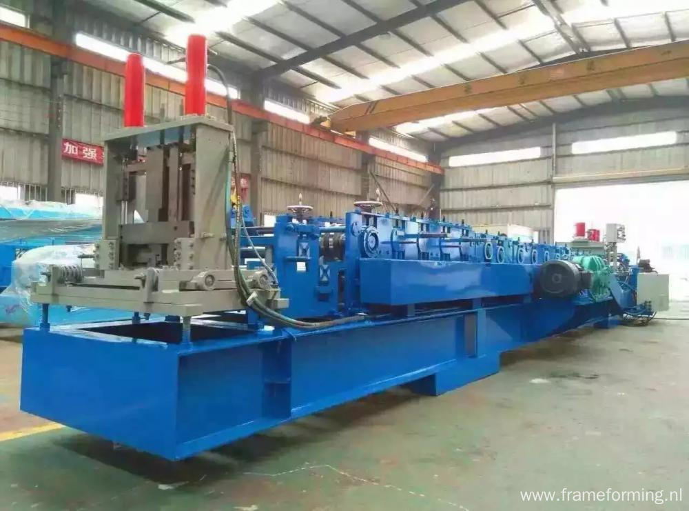 CZ purlin rolls forming interchangable machine